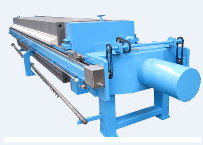 Auto Hydraulic Plate Frame Filter Press Dewatering Capacity 480L - 1800L