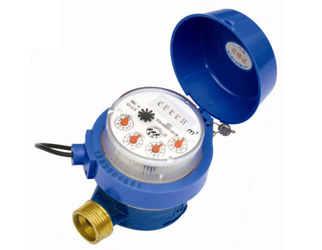 IP67 Protection Multi Jet Water Meter Horizontal / Vertical Mounting PN16 Pressure