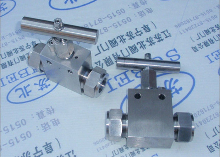 High pressure cutting ferrule stop valve in measure pipeline PN0.6 Mpa to PN80 Mpa DW2 to DW65